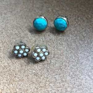 Stella and Dot Studs (2 for 1!)